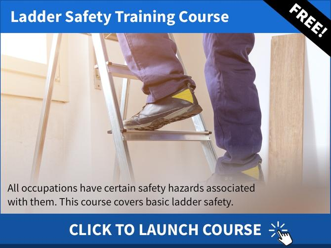 Free Ladder Safety Training Course