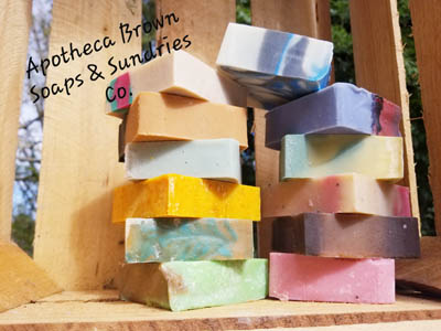 Apotheca Brown Soaps and Sundries
