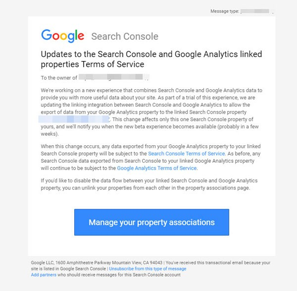Mail Search Console Insights