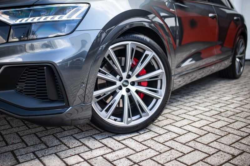 "Audi Q8 55 TFSI E Hybride Quattro *S-Line / B&O / Pano / 23"" / Black Pack / ACC* afbeelding 21"
