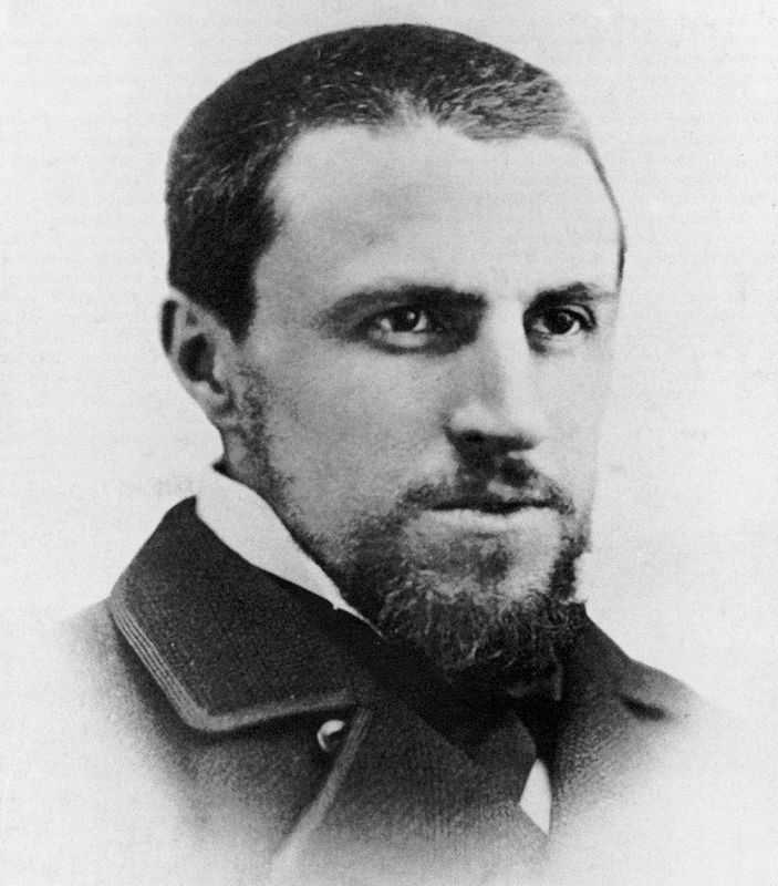 A photo of Gustave Caillebotte, about age 30, c. 1878