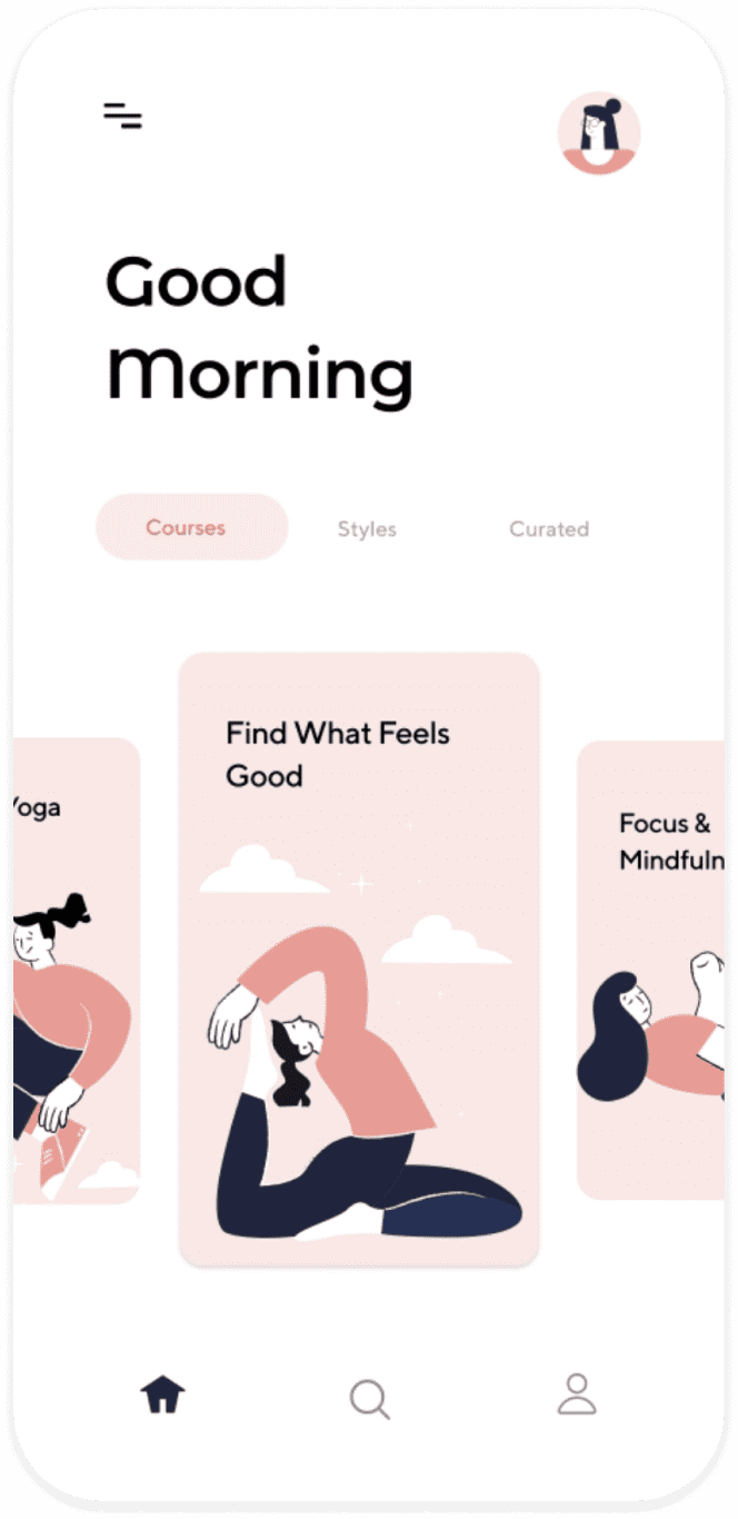 Yoga & Meditation App