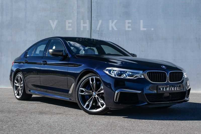 BMW 5 Serie M550i xDrive High Executive // BTW-auto // First owner afbeelding 1