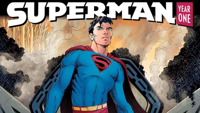 Imagem de Superman Year One de Frank Miller e John Romita Jr.
