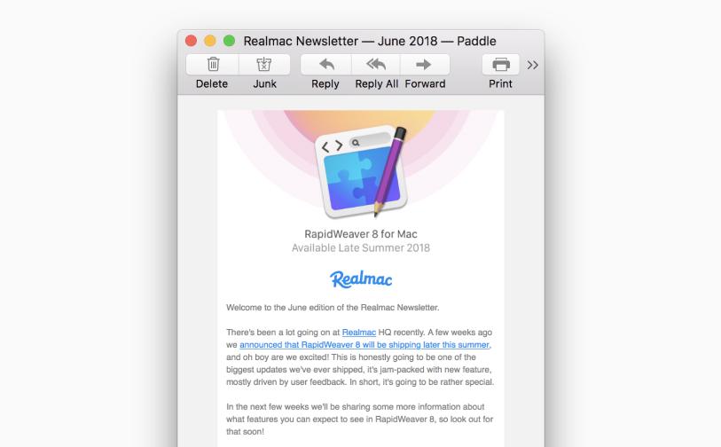 Realmac email 1
