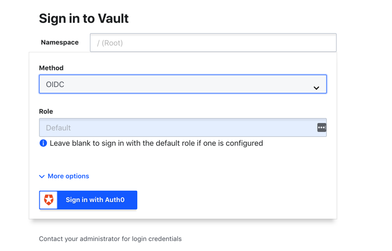 OIDC Auth Method | Vault - HashiCorp Learn