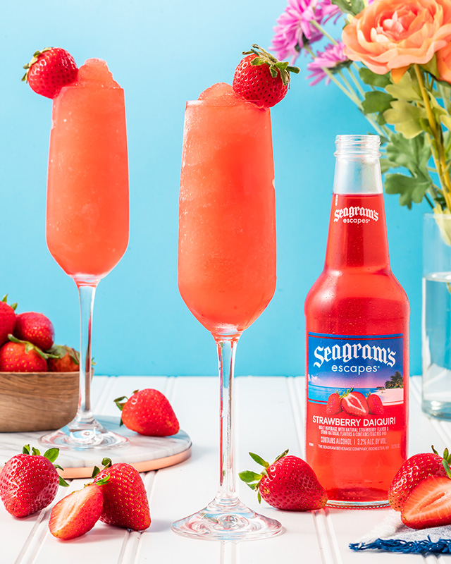 Frozen Strawberry Mimosa Photo