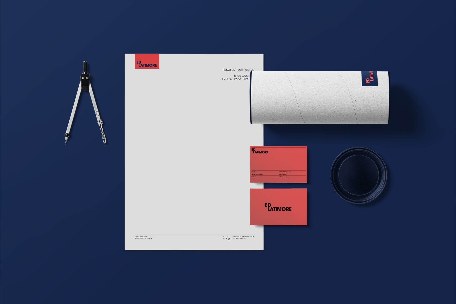 Premium stationery design