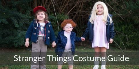 Dress like characters from Stranger Things for your Halloween or Costume Party