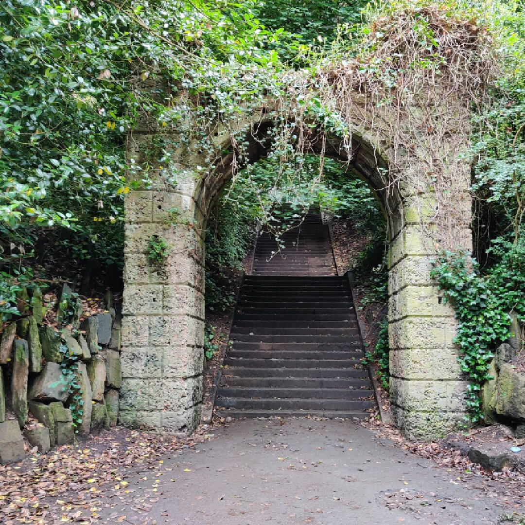 Armley Park Killer Steps from the bottom