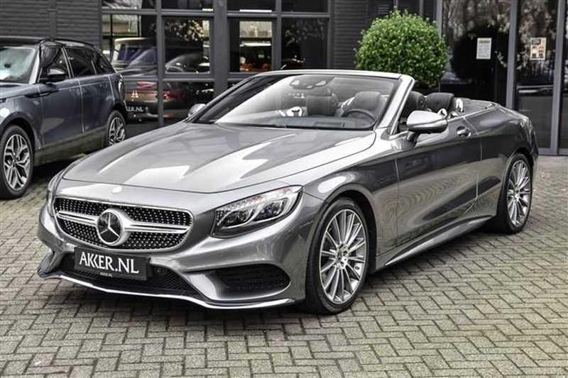 Mercedes-Benz S-Klasse S500 CABRIO AMG-LINE+BURMESTER+HEAD-UP NP.201K afbeelding 10