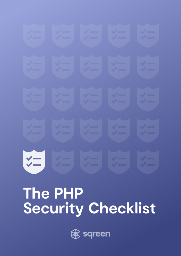 The ultimate PHP Security Checklist | Sqreen