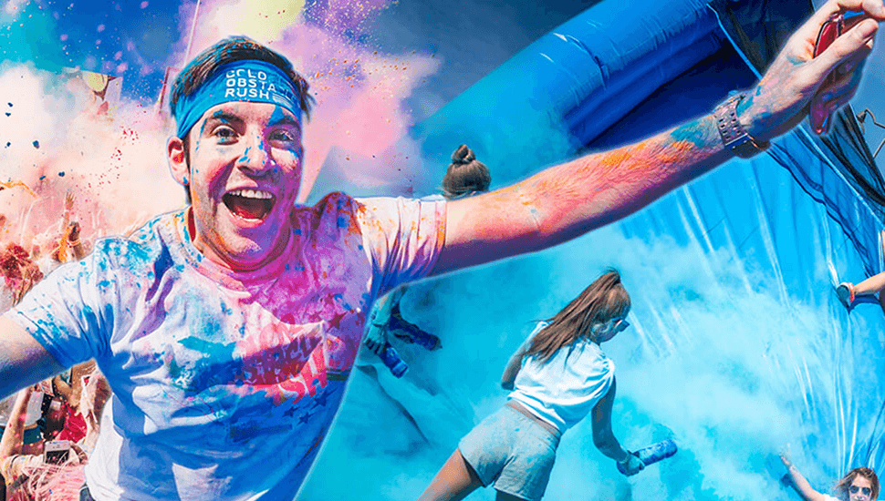 Delta i Color Obstacle Rush 2018 - årets färggladaste lopp!
