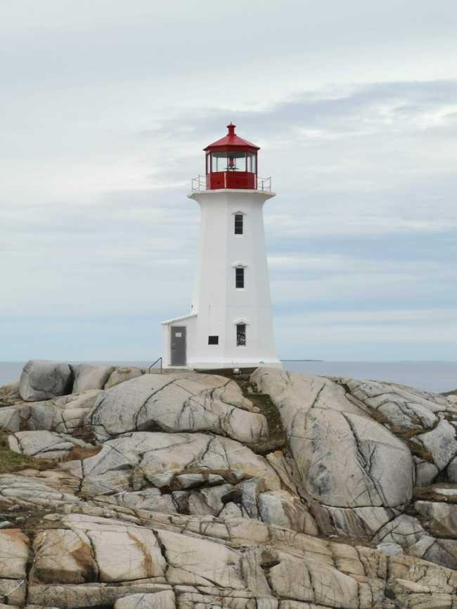 Phare de peggy's Cove, Nova scotia