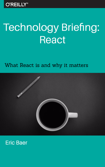Technology Briefing: React book cover