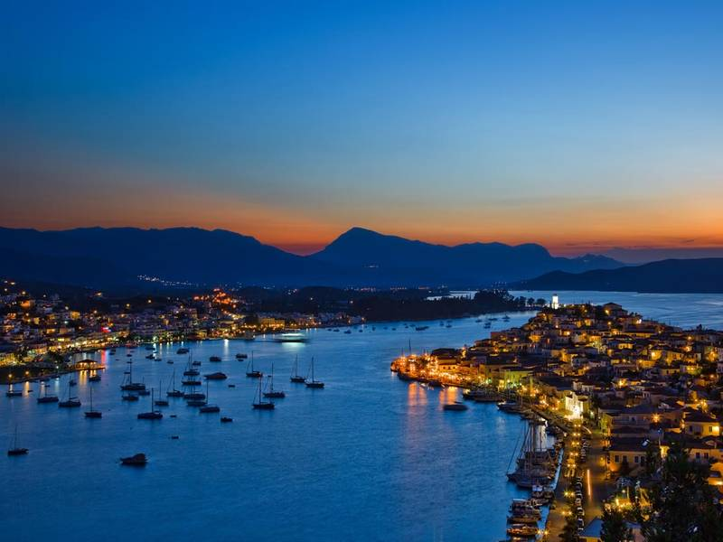 Poros provides the perfect mix on a Greece sailing trip
