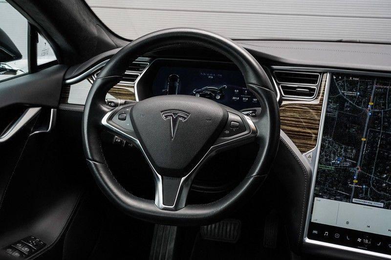 Tesla Model S 75 Autopilot Free Charging Navi Leer Camera afbeelding 17