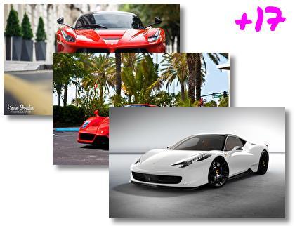 Ferrari theme pack