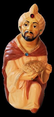 Extra Large Kneeling Wise Man photo