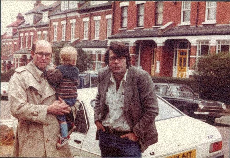 Стивен Кинг вместе сПитером Страубом вЛондоне, 1977год. Источник: pinterest.co.uk