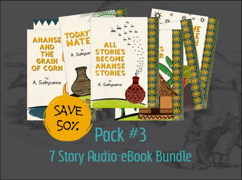 Pack #3: 7 Story Audio-eBook Bundle