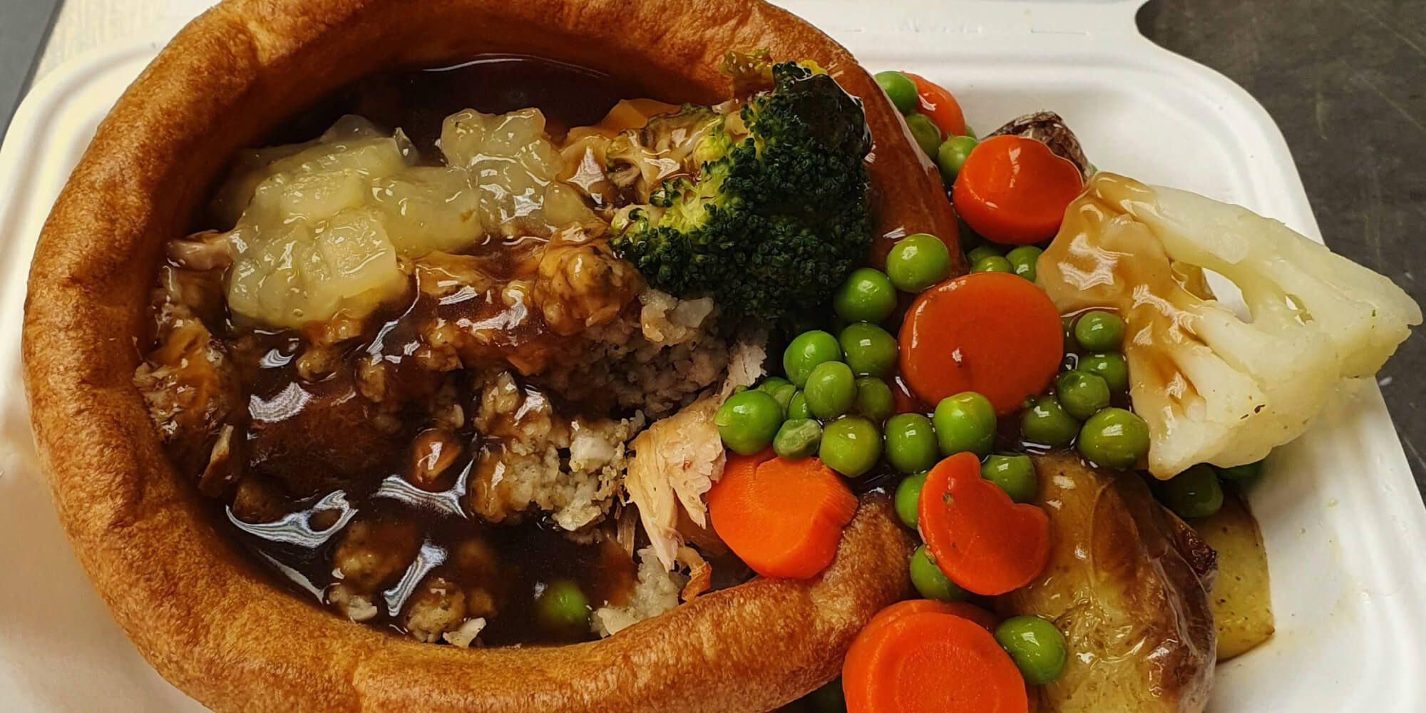 Roast dinner at Nosh