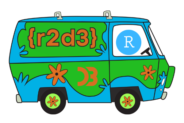 Your first D3 visualisation with {r2d3} and Scooby-Doo