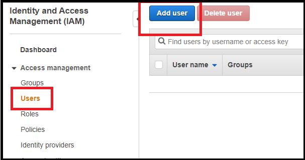 create user in AWS IAM to display AWS billing info in Slack