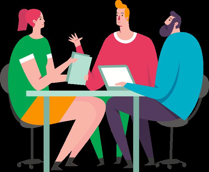 content-creation illustration