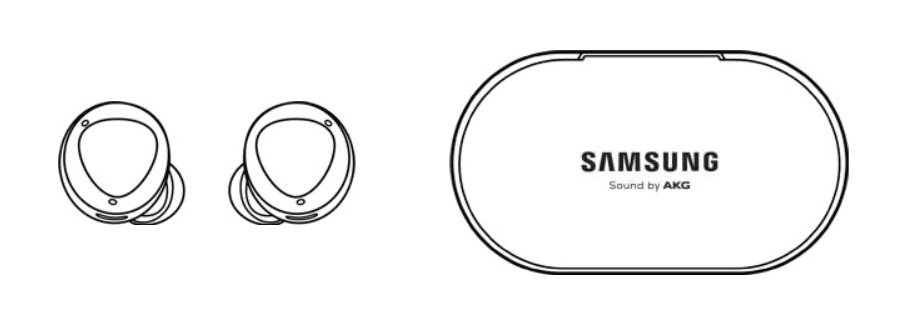 Samsung Galaxy Buds+ Diagram