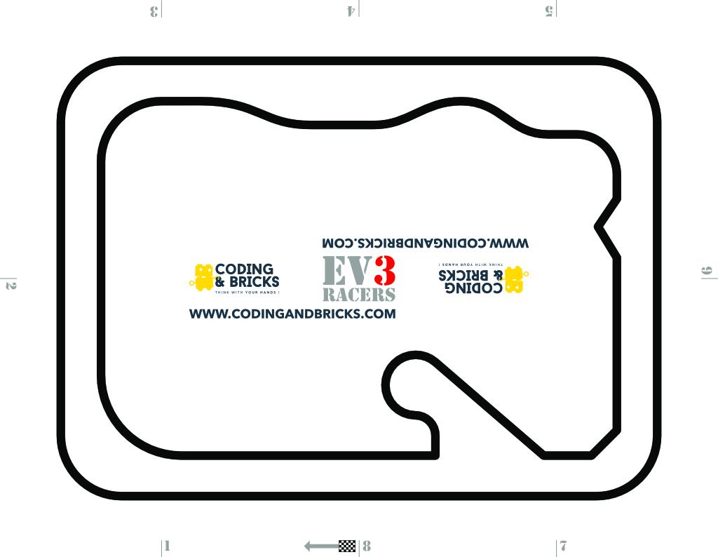 Codingandbricks Circuit Ev3 Blanc