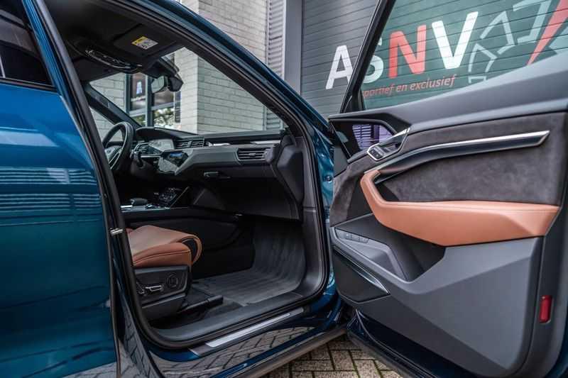 Audi e-tron 55 quattro advanced Pro Line Plus, 408 PK, 4% Bijtelling, Luchtvering, Surround View, Stad/Tour Pakket, B&O, EX. BTW!! afbeelding 4