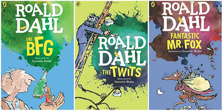 The BFG, The Twits, Fantastic Mr Fox