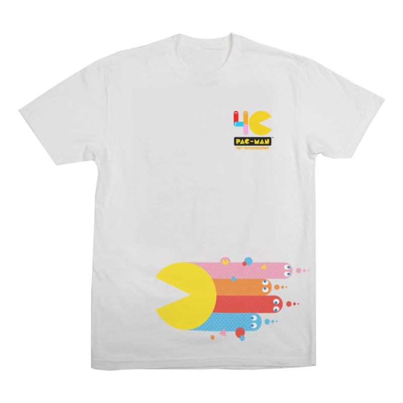Pac-Man Children White T-Shirt