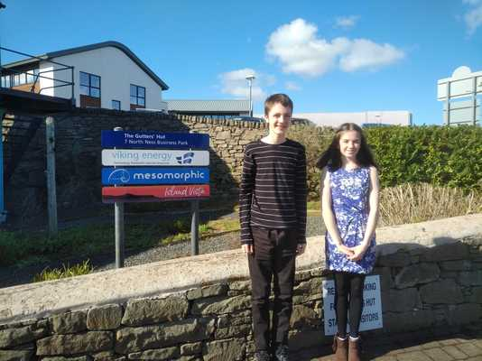 Lily and Sam share details about their work experience placement with Mesomorphic.