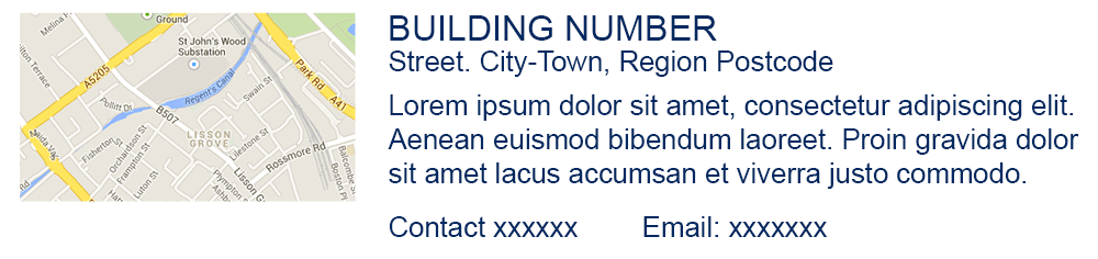 An example of an 'address' element
