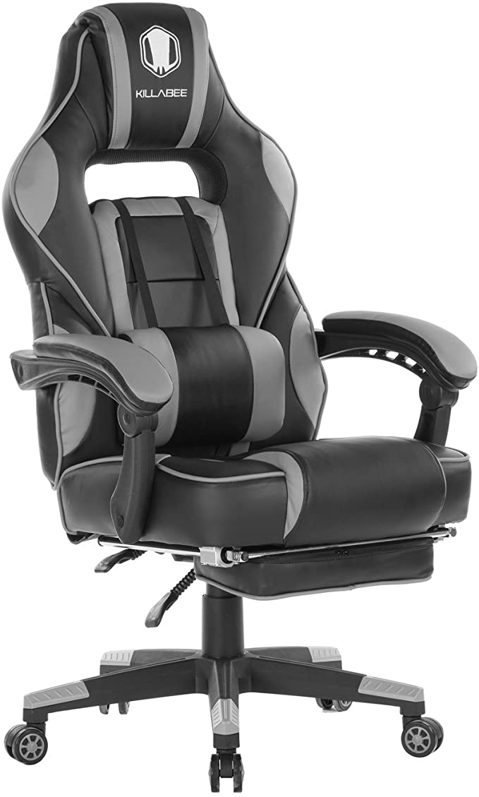 KILLABEE Massage Gaming Chair Office Swivel Recliner