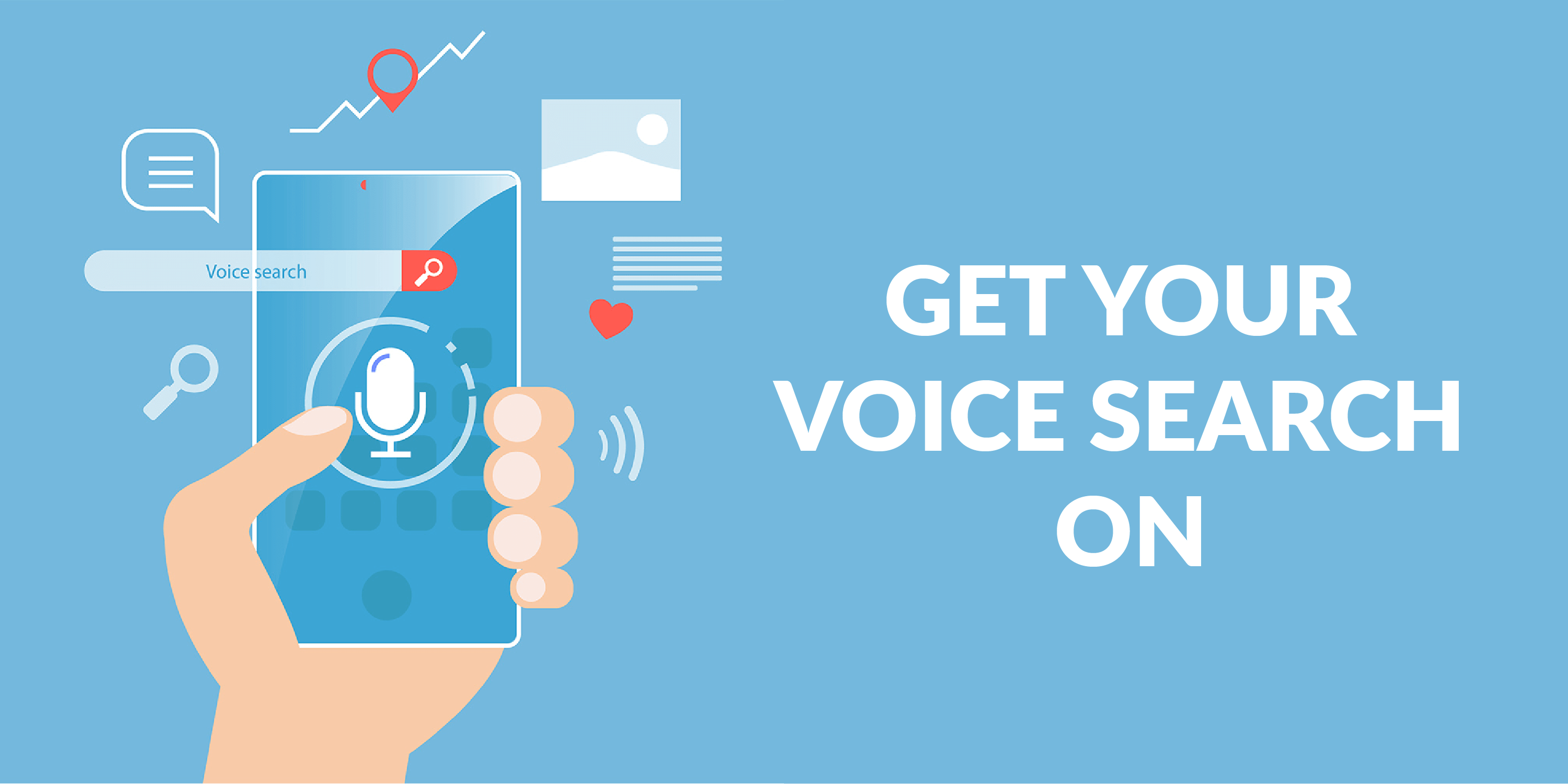 get your voice search on