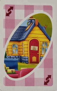 Doc McStuffins Pink Uno Reverse Card