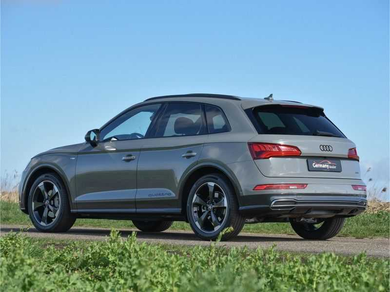 Audi Q5 2.0TFSI 252pk Quattro Black Optic Alle Opties! Lucht Tr.Haak Ruitleder Carbon Matrix Pano 20-Inch afbeelding 13