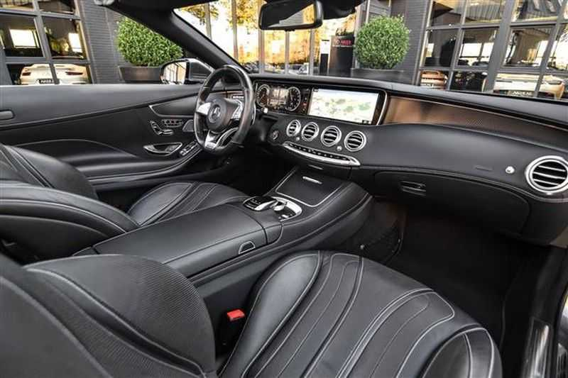 Mercedes-Benz S-Klasse S500 CABRIO AMG-LINE+BURMESTER+HEAD-UP NP.201K afbeelding 11