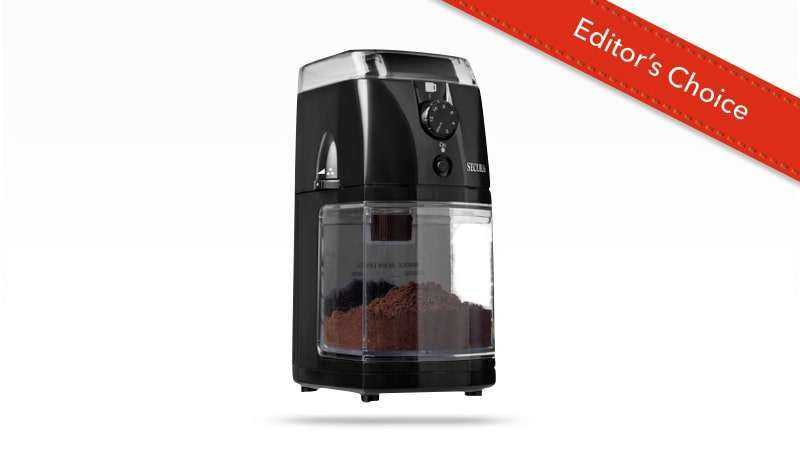 Secura SCG-903B Automatic Electric Coffee Grinder