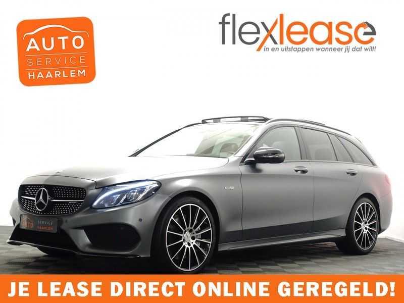 Mercedes-Benz C-Klasse Estate 43 AMG 4MATIC 368pk Designo 9G- Pano , Leer, Burmester,full