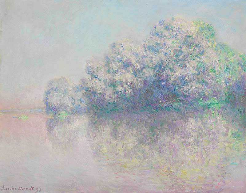Monet's L'Ile aux Orties was sold by Christie's New York for $8.11 million in November 2013