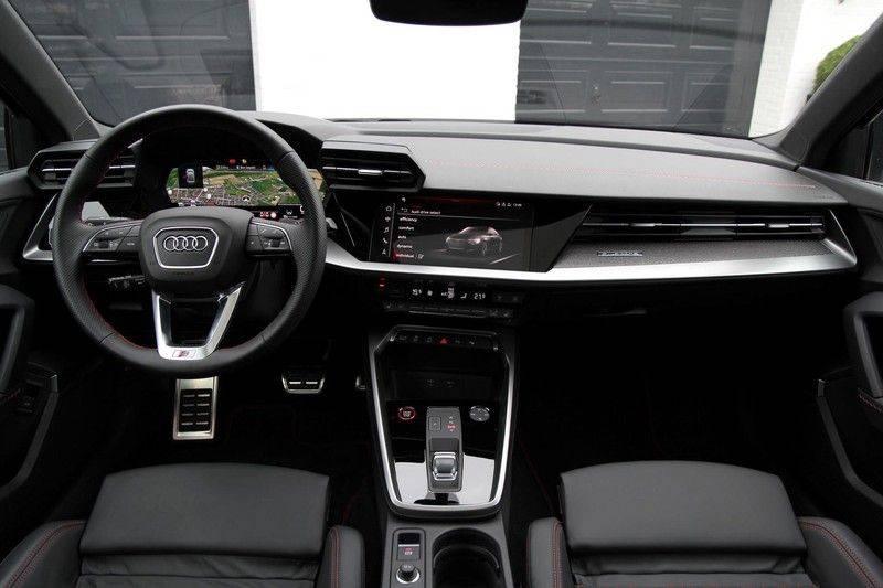 Audi S3 LIMOUSINE PANO.DAK+LEDER+HEAD-UP+CARBON+B&O afbeelding 12