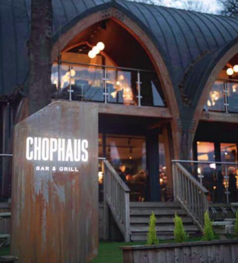 Chophaus Roundhay seating indoors