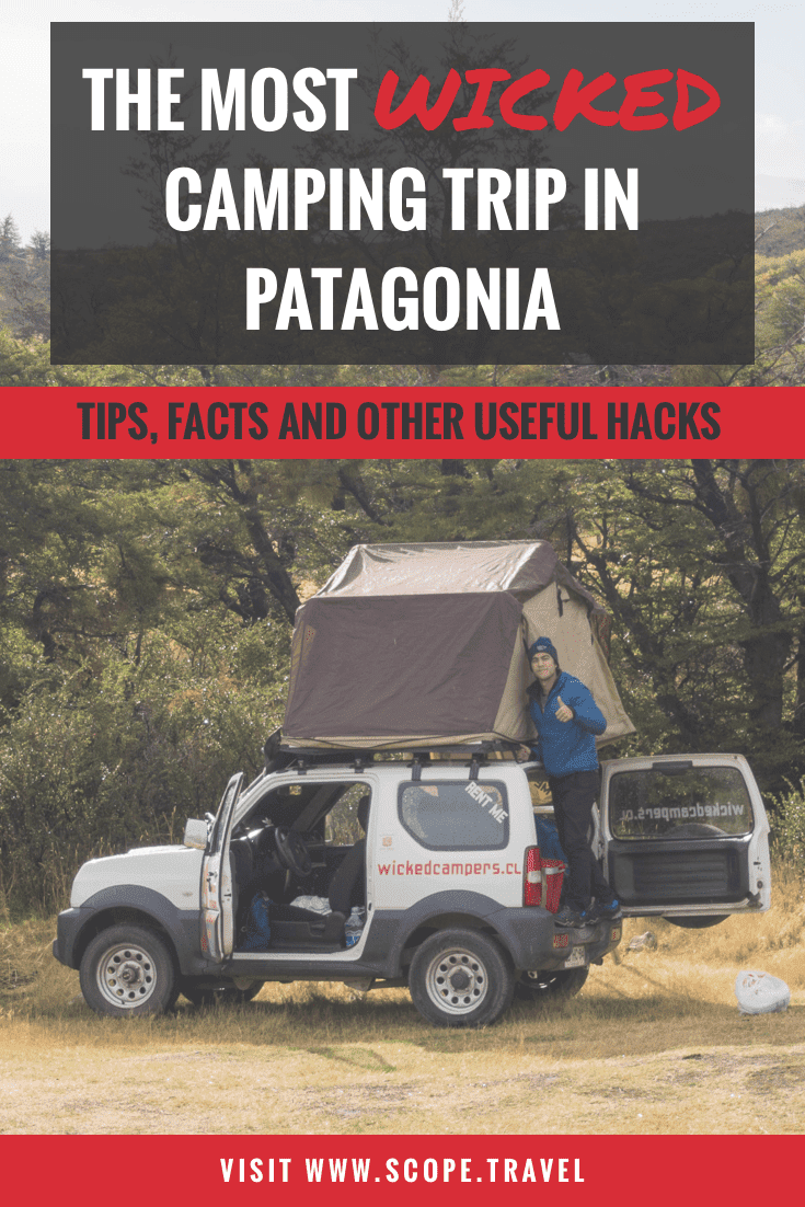 Pinterest wicked camping tips in patagonia