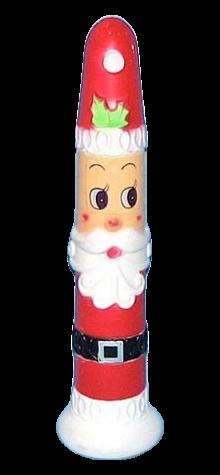 Santa Candle photo