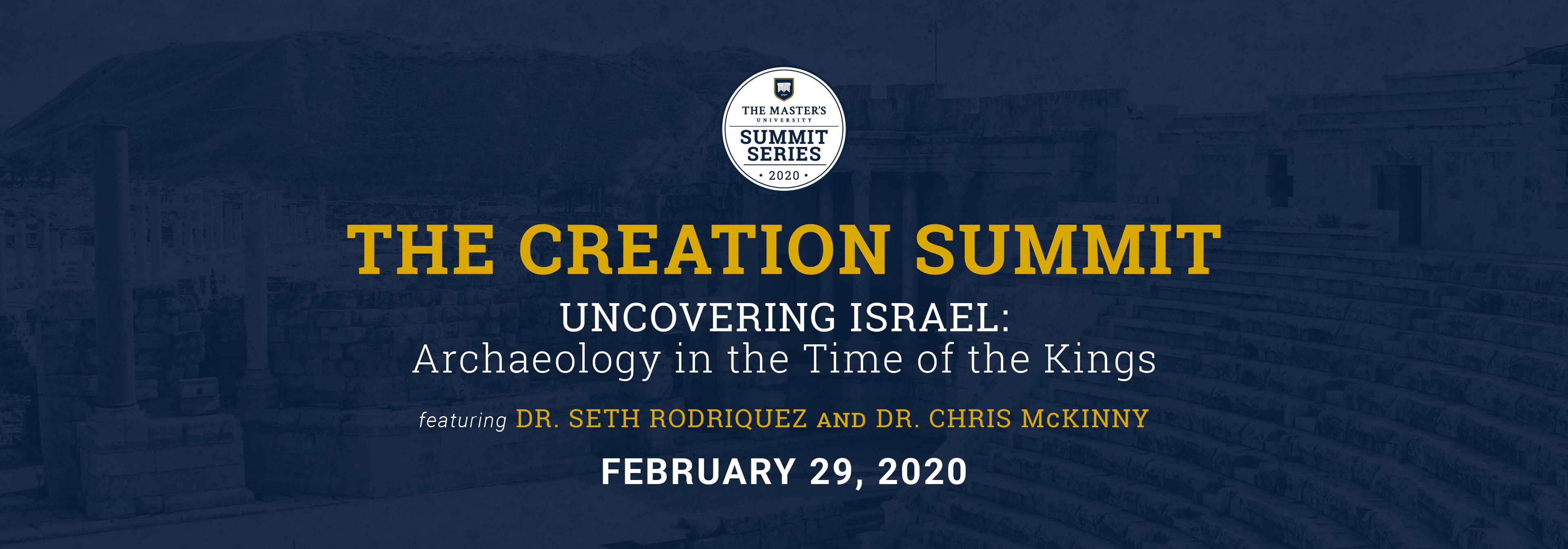 The Creation Summit