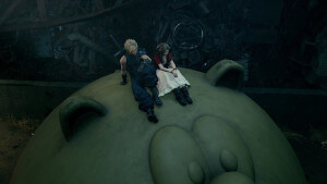 The Moogle Slide from the Final Fantasy VII Remake